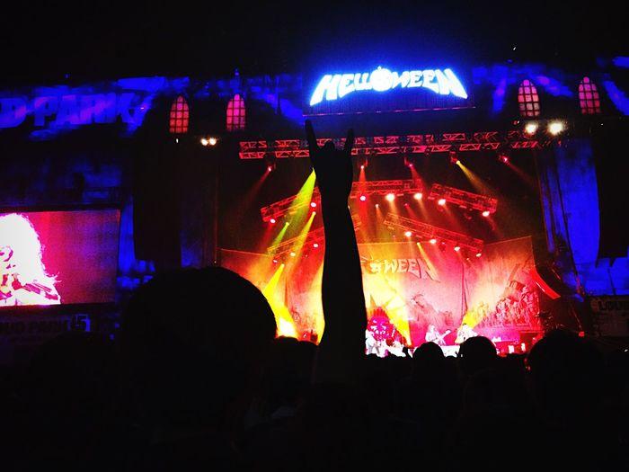 Helloween Loudpark Germanmetal Band