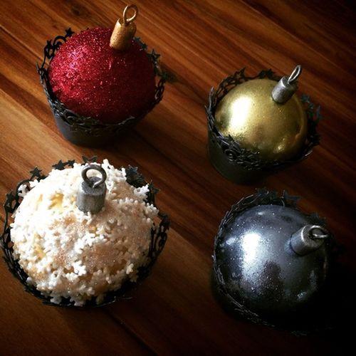 Cupcakes Sphere Xmas Cupcakes Xmas