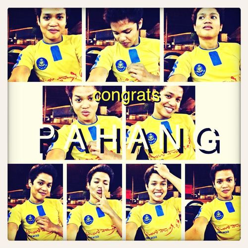 Pahang Champion Malaysia Cup ! Enjoying Life Check This Out That's Me Taking Photos