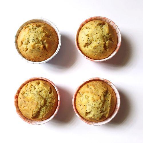 Lemon poppy seed muffin Baking Muffin Lemon PoppySeed Homemade Tea Time