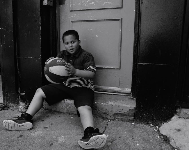 Buy Playing Ball Building Exterior Day Full Length Lifestyles One Person Outdoors People Real People The Street Photographer - 2017 EyeEm Awards