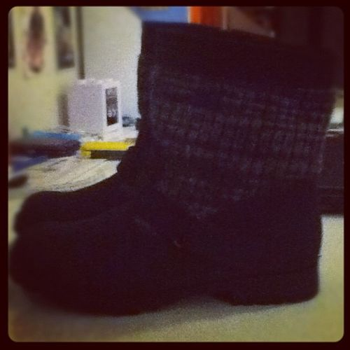 My new boots. :) Instagood Boots Bottes Christmas happy shopping yeah swaggy love