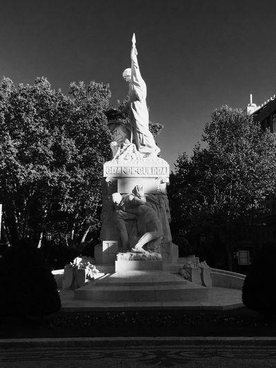 Statue Lisbon Blackandwhite City Greatwar First Eyeem Photo EyeEmNewHere