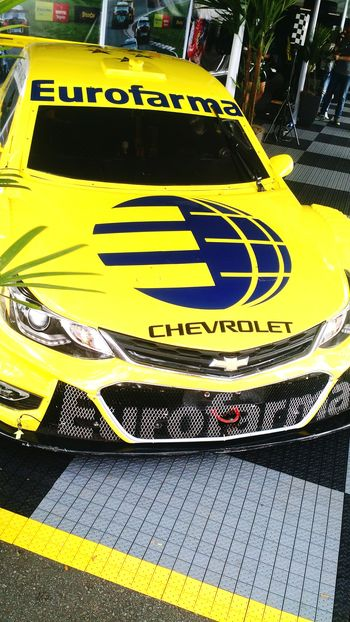 Yellow Text Communication Day Outdoors Full Frame No People Close-up Yellow Color Stockcar  Popular Photographs Popular Photos Cars