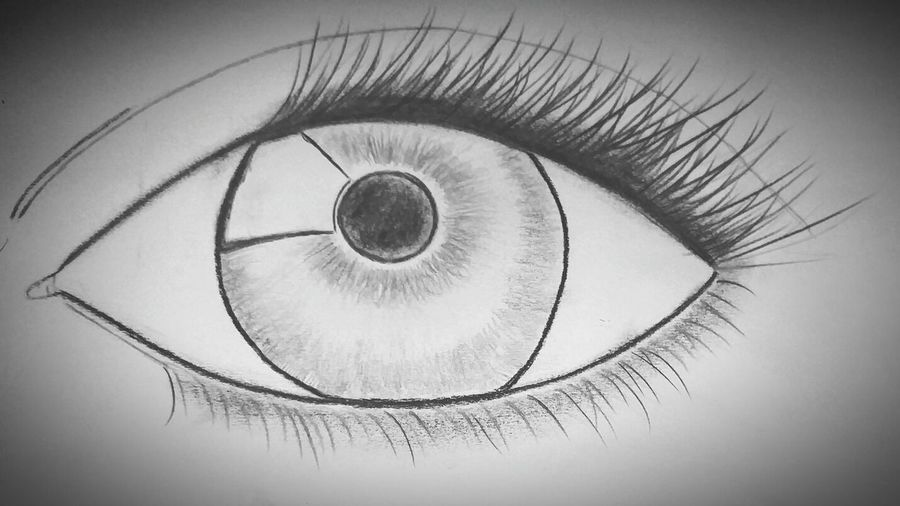 My first sketch of an eye. Charcoal Drawing Eyelashes Creativity Patience Taking My Time. Check This Out.