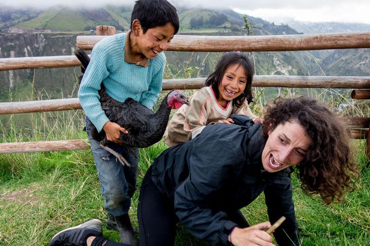 Ecuadorian kids
