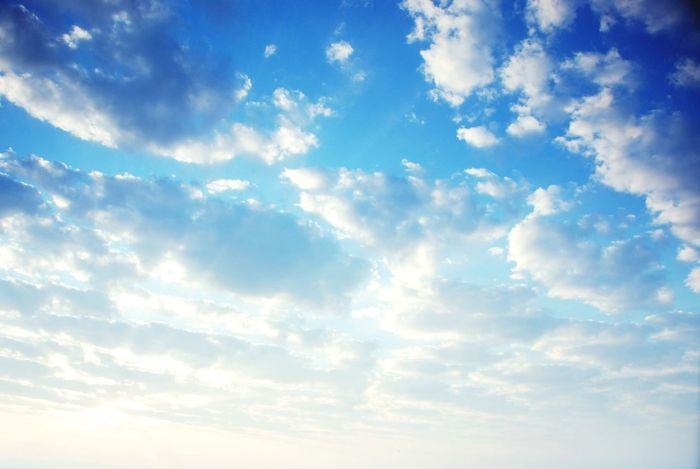 Sky Clouds And Sky Clouds Blue Sky Bright Sky Sun Sky Clouds Morning Sky Beautiful Sky Season  Power Of Light Bluesky Energy Wind Backgrounds Sky Pattern Textures And Surfaces