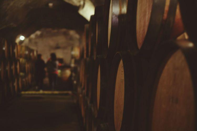Wine Tanks In Csve Gibston Valley