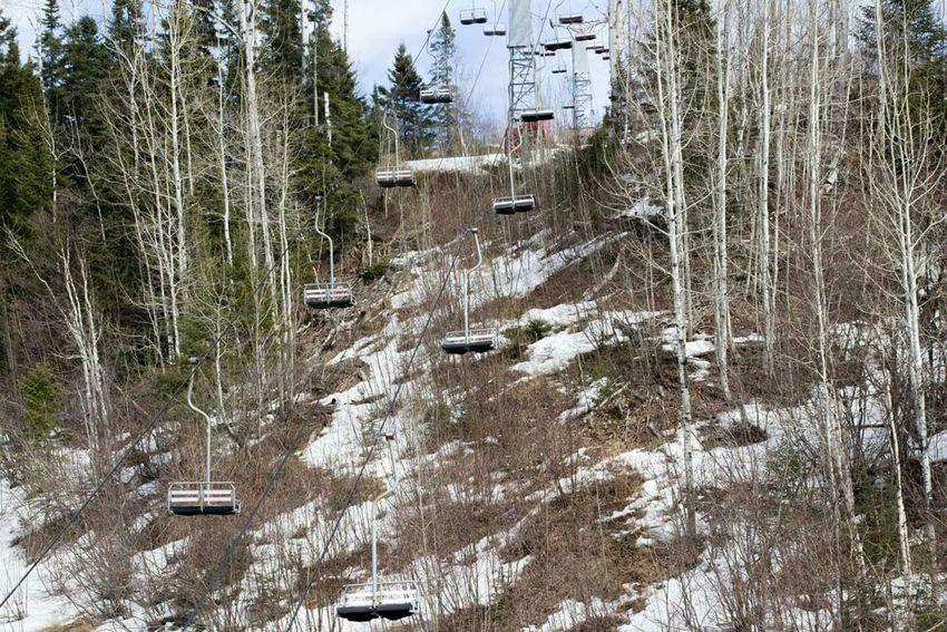 Chairlift Skiing LutsenMountains Minnesota Nomoresnow