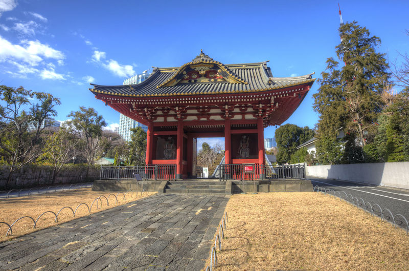Gate Of Daitokuin Gate Of Datokuin Mausoleum HDR Japan Japanese Temple Pagoda Architecture Asian Temple Building Exterior Built Structure Daitokuin Day Mausoleum No People Outdoors Place Of Worship Religion Sky Temple Travel Destinations Tree