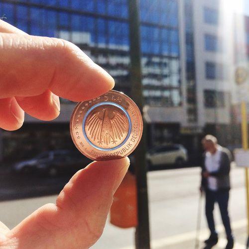 #bundesbank #fünfeuro #münze #coin #planeterde