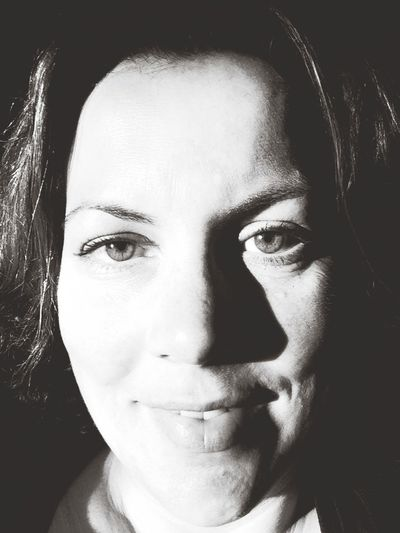me Black And White Self Portrait (null)