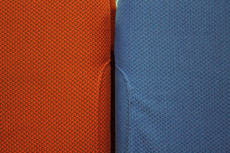 Abstract Backgrounds Blue Close-up Design Detail Fabric Full Frame Multi Colored No People Orange Color Part Of Pattern Red Repetition Textile Textured  Your Design Story Maximum Closeness Neon Life