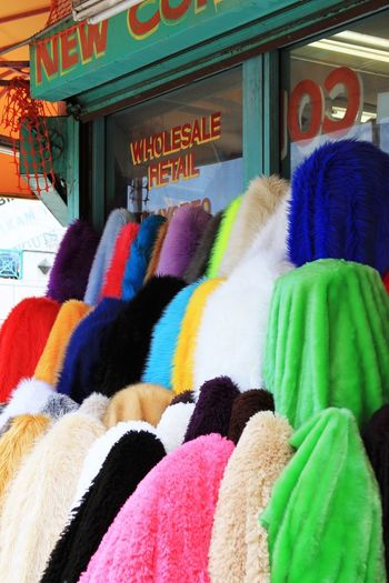 Fabric Color Shopping ♡ Garment Material Wholesale Street Market DowntownLA Los Angeles, California Garment District Sewing Urban City