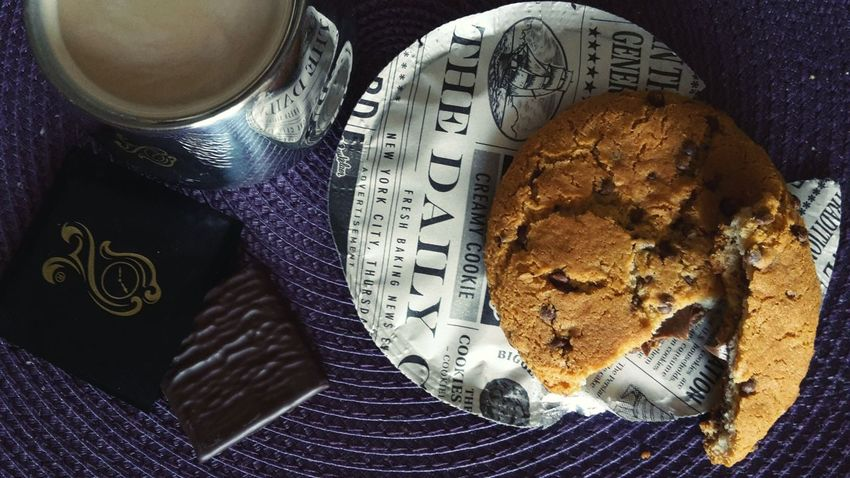 Breakfast Goodmorning World  Photography Dettails  Cookie Coffee Time Aftereight Buonobuonissimo Gnam