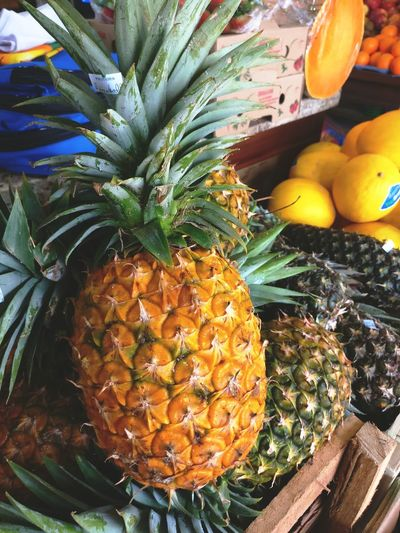 Pineapple Food No People Freshness Close-up Beauty In Nature Day Nature Indoors