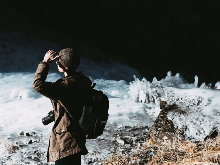 Winter Snow Nature Cold Temperature Men One Person Warm Clothing Outdoors One Man Only People Only Men Day Switzerland Ice Exploring The Street Photographer - 2017 EyeEm Awards The Great Outdoors - 2017 EyeEm Awards