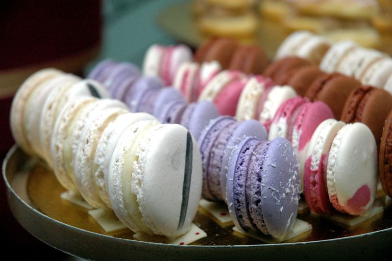 Sweet Food Dessert Sweet Macaroon Food And Drink Multi Colored Indulgence Food Temptation Ready-to-eat Still Life Unhealthy Eating Close-up No People Indoors  Freshness Variation Focus On Foreground In A Row Choice Snack Macarons Macaron Eyeem Philippines Eyeem Philippines Album