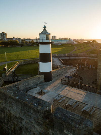 DJI X Eyeem Drone  Great Britain Portsmouth Southsea Castle Southsea Pier United Kingdom Aerial Photography Architecture Building Exterior Built Structure Drone Photography England Hampshire  No People Outdoors Southsea Sunrise Sunset