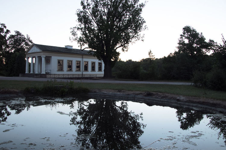 UNESCO World Heritage Site Architecture Building Clear Sky Day House No People Outdoors Park Reflection Román House Römisches Haus Water Waterfront Weimar R