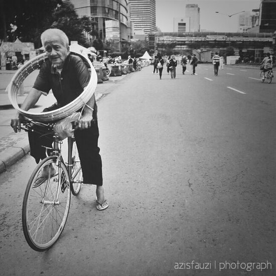 the old man Istrie Fotodroids Black And White Bw_indonesia