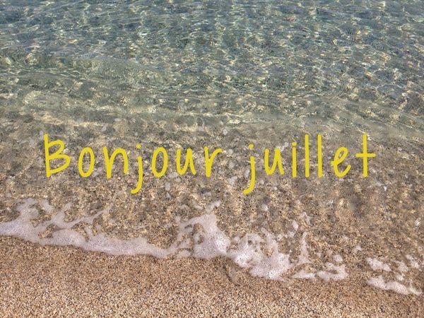 Hellojuly Bonjour Juillet
