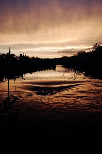 Nature Beauty In Nature Water Outdoors Sunset
