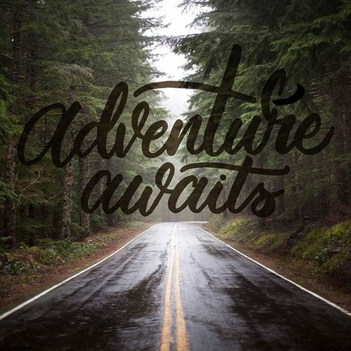 Heads up, stand up, and walk on. Your adventure is waiting for you. Quotes Handlettering Lettering Handmade Handmadefont Digital Art ArtWork Design Goodtype TheGoodVibes Goodvibes Typeface  Typography Handtype Calligraphy Brushlettering Brushcalligraphy