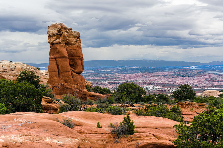 Arches National Park, Utah Beauty In Nature Cloud - Sky Day Nature No People Outdoors Representing Travel Destinations