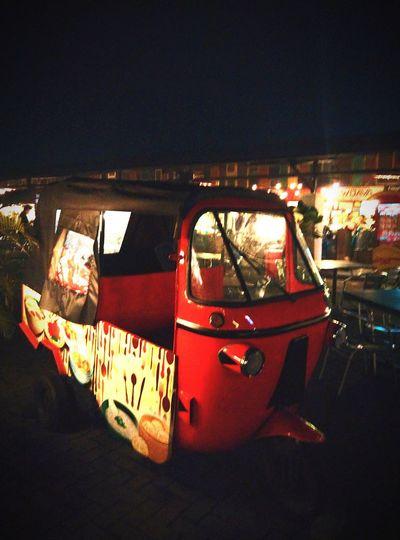 Indonesian othentic transport call bajaj Hyper Bajaj INDONESIA Travel