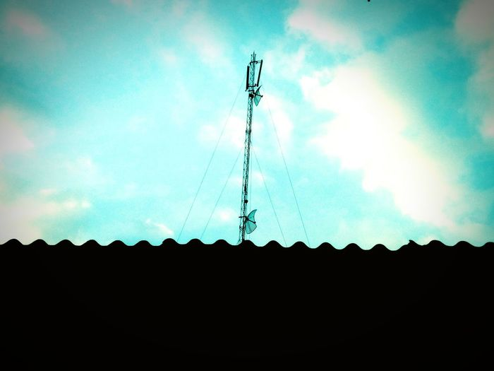 Antenna. Afternoon Sky First Eyeem Photo