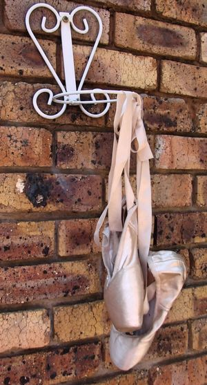 Hanging Around Ballet Brick Wall Close-up Day En Pointe Hanging No People Outdoors Pointe Shoes