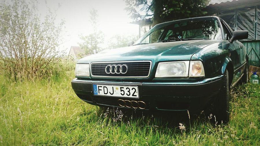 Kėdainiai Taking Photos Audi Audi ♡ Audi 80 B4 My Car I Love My Car Nature Summer