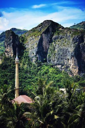 Hidden Mosque Landscape Outdoor Mosque Mountain Stone