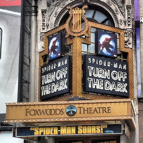 Foxwood Foxwood Theater Marquee NYC theaterdistrict 42ndSt