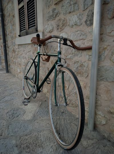 Bicycle Transportation Mode Of Transport Bicycle Rack Vintage Vintage Bike SingleSpeed Bike Singlespeed Binissalem Smartphonephotography Mallorcaphotographer