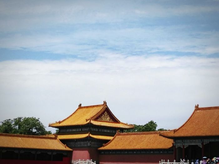 Emperor Royal Palace Palaces Chinese Culture Forbidden Places Ancient Old Buildings