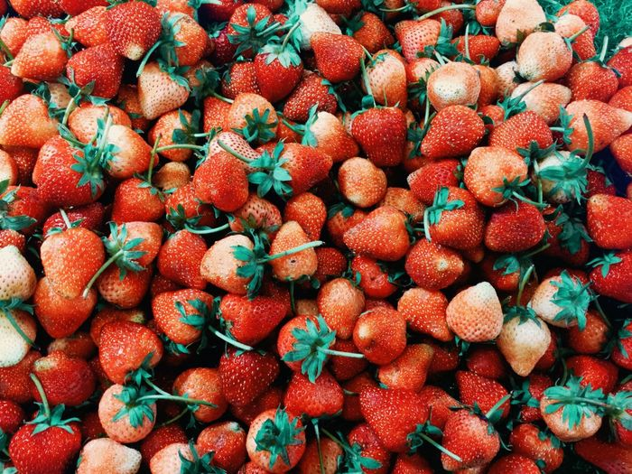 Abundance Backgrounds Berry Fruit Day Food Food And Drink For Sale Freshness Fruit Full Frame Healthy Eating Heap High Angle View Large Group Of Objects Lychee Market No People Red Ripe Still Life Strawberry Wellbeing