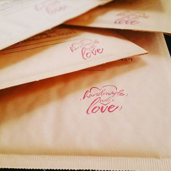 Close-up Detail Education Handmade Handmade With Love Handwriting  Information Message No People Paper Selective Focus Small Business Still Life Text Western Script