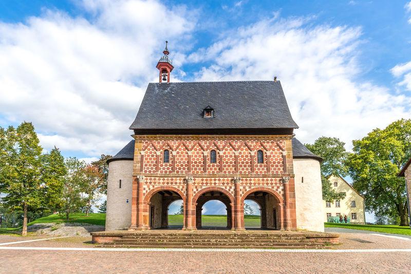 Lorsch Abbey City German Kloster Monastery Architecture Building Exterior Day Germany Hessen Lorsch Sky Town Hall Village