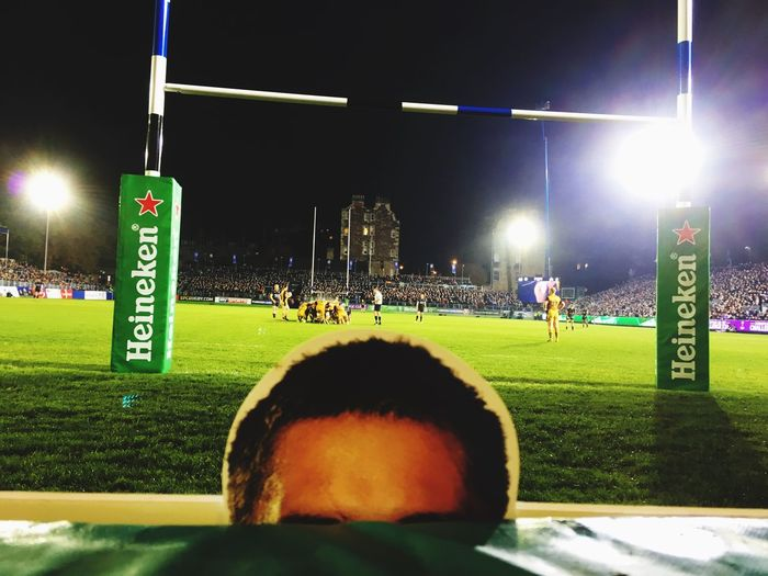 Bath Rugby Leroy Houston Between The Posts
