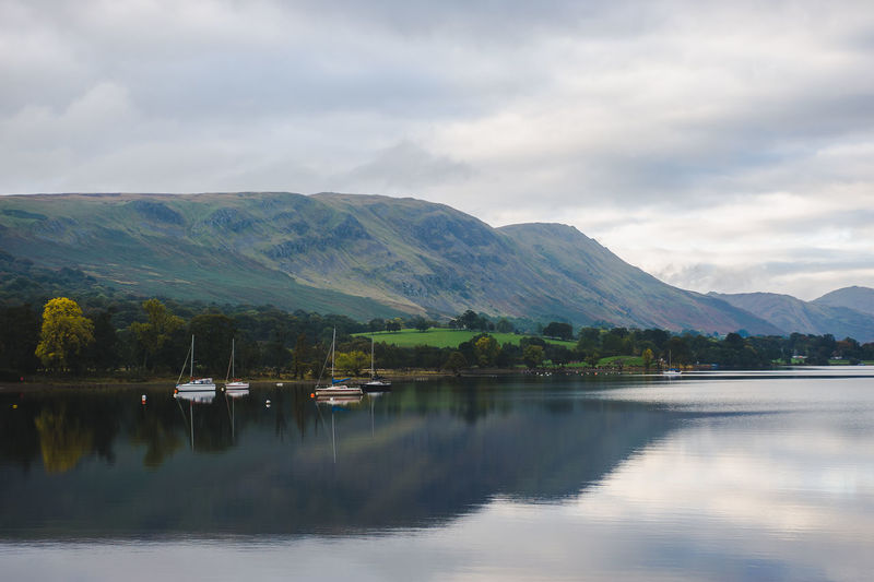 Lake District Ullswater Beauty In Nature Cloud - Sky Day Environment Idyllic Lake Landscape Mountain Mountain Range Nature No People Non-urban Scene Outdoors Reflection Reflection Lake Scenics - Nature Sky Tranquil Scene Tranquility Water Waterfront