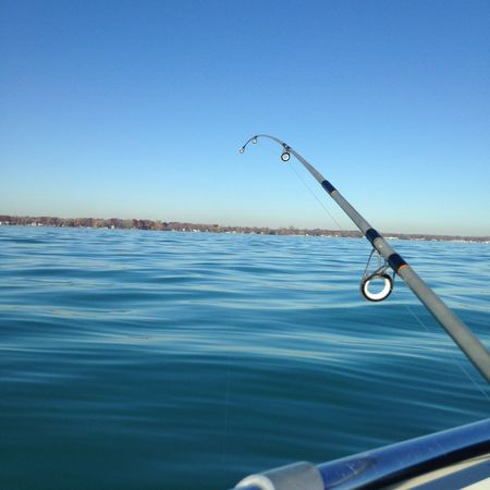 Fishing Gone Fishing Water Water_collection Lake Lakeside Lake St Clair Michigan Pure Michigan