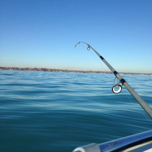 Fishing Gone Fishing Water Water_collection Lake Lakeside Lake St Clair Michigan Pure Michigan