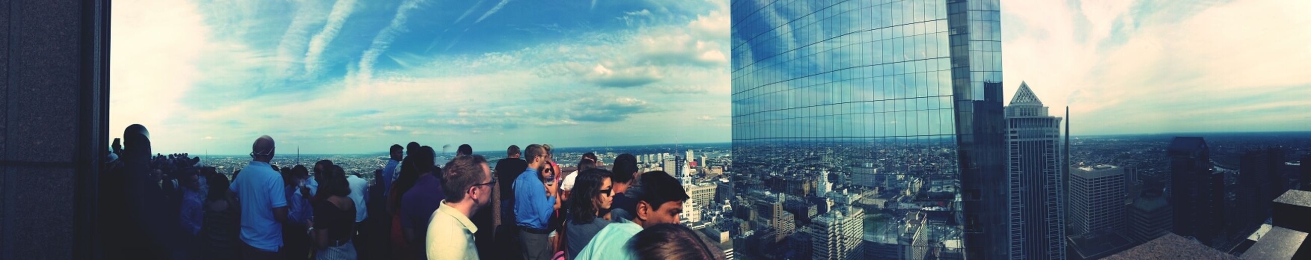 Yesterday at Center City Sips.
