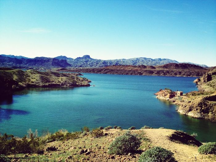 Hiking in lake havasu