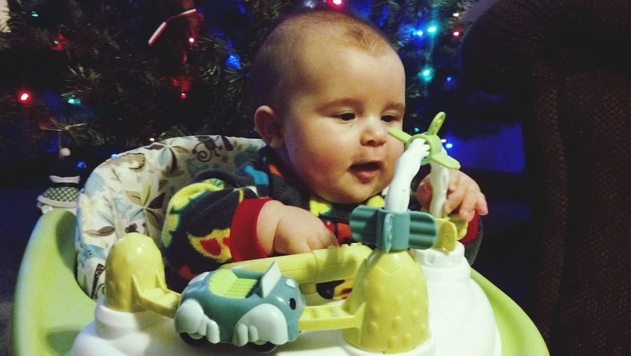 My Grandson First Christmas I LOVE HIM♥ Leonie Filter