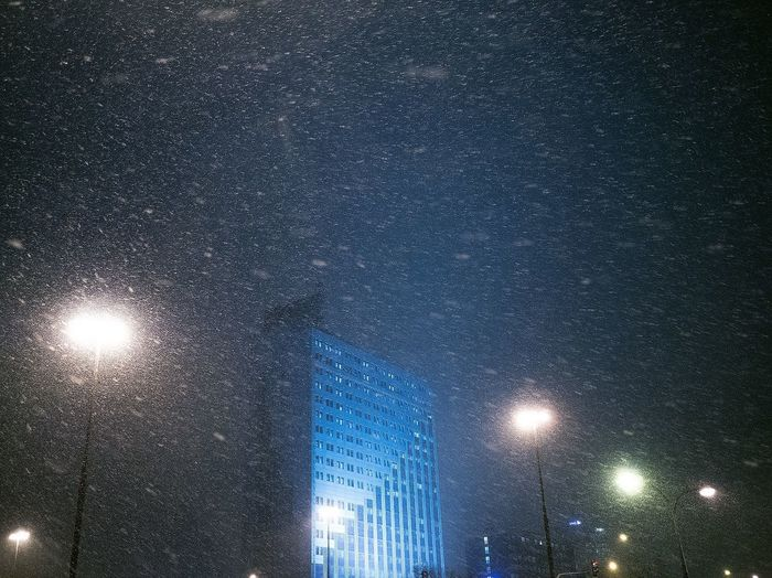 Snow ❄ Snow Sale Illuminated Night Low Angle View No People Nature Lighting Equipment Rain Sky Wet Glass - Material Drop Rainy Season Full Frame RainDrop Architecture Backgrounds Water Outdoors Street Light Light Adventures In The City Adventures In The City