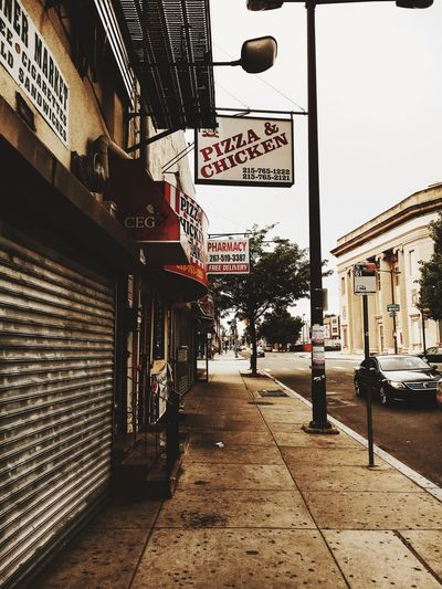 Pizza & Chicken Streets of Philly Philadelphia Restaurant VSCO VSCO Cam Explore More Streetphotography