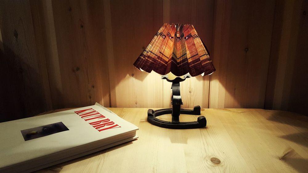 Lamp Boek Table Horse Shoe